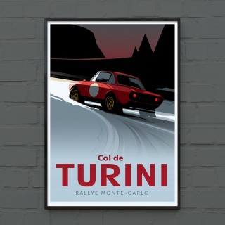 New Porsche And Lancia Posters From Guy Allen Have Arrived In The Shop