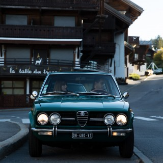 GALLERY: Go Behind The Scenes On Our 1972 Alfa Romeo Alfetta Film Shoot