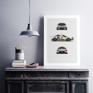 New Posters From Remove Before Have Landed In The Shop: Lancia Stratos, BMW E30 M3 & 3.0CSL