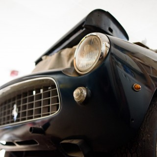After Three Days Of Digging, A Ferrari 250 GT PF Rolls Out Of The Garage