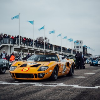 Not Even A Snowstorm Could Dampen The Fun At The 76th Goodwood Members' Meeting