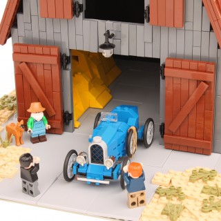 Bugatti Barn Finds And Art Deco Daydreams Are Just Another Day In This Man's LEGO Land