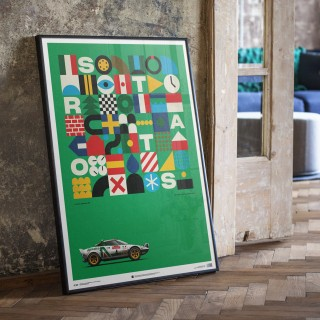 Let Automobilist Hang A Porsche 906 Or A Lancia Stratos In Your Living Room