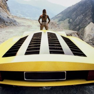 On Set: 10 Concept Car Photoshoots From A Wedge-Shaped And Leopard-Printed Past