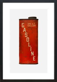 Red & White Gasoline