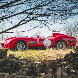 Memories Of A Father And Racer Abound From Innes Ireland's Ferrari 250 Testa Rossa Recreation
