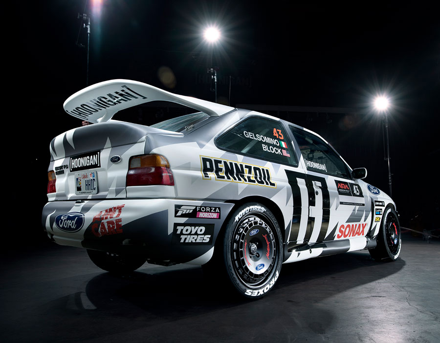 Racing Tastefully: Ken Block And A 1993 Ford Escort RS Cosworth ...