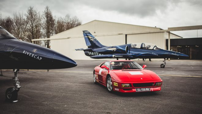 Florian Turned His Scale Model Into A Full-Size Ferrari 348 Challenge