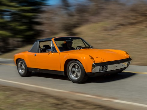 Upgraded 1970 Porsche 914-6 2.7
