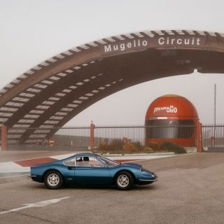 Last Of The First: A 1969 Ferrari Dino 206 GT Visits Mugello