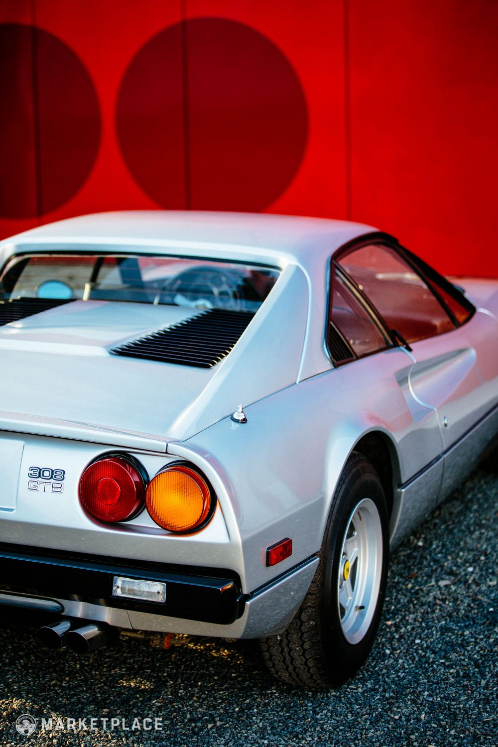 1977 Ferrari 308 Gtb W Audio Clips Petrolicious Fuse Box Wheels Classic 14 Campagnolo Five Spoke Were Repainted During The Cars Recent Work And Wear New Period Looking Vredestein Tires
