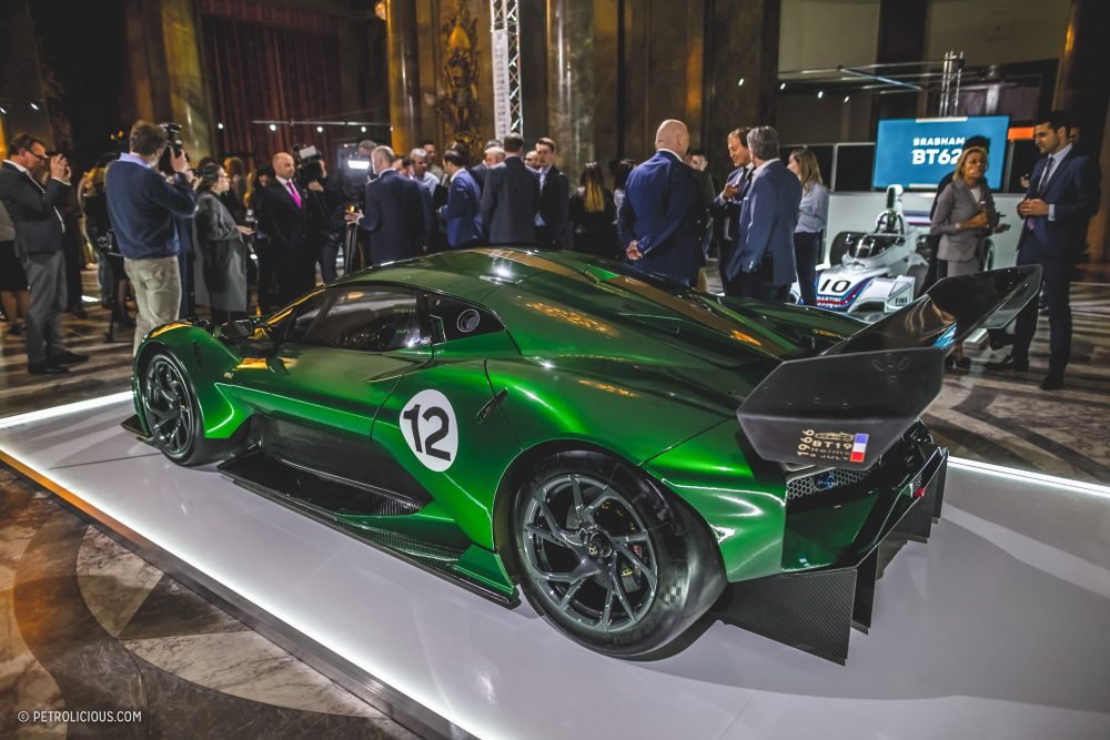 Bringing Back Brabham: Meet The BT62, A 700HP Naturally-Aspirated