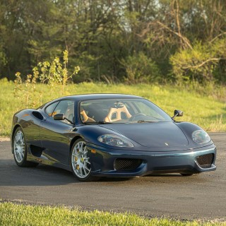 Rarity Squared: The Manual Gearbox Ferrari 360 Challenge Stradale