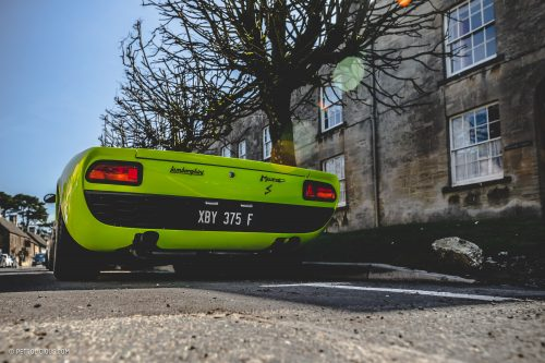 Bull In The Cotswolds A 1968 Lamborghini Miura S And Some Of