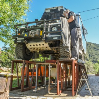 How To Live Without Borders In A Land Rover Defender