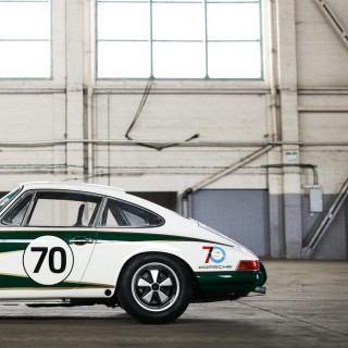 Meet The 911 That's Racing Around Europe To Celebrate 70 Years Of Porsche Automobiles