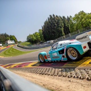 The Wild And Winged: Group C Cars Return To The Race Track At The Spa Classic