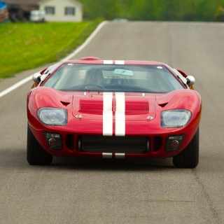 GALLERY: Go Behind The Scenes On Our GT40 Continuation Film Shoot