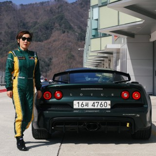 Custom-Fit Track Toy: Meet The South Korean Woman Who Spends Her Vacation Time In A Lotus Exige S