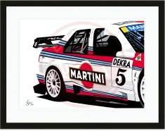 Speed Icons: Alfa Romeo 155 DTM – Limited Edition Print