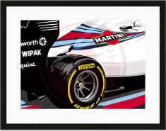 Speed Icons: Williams FW36 – Limited Edition Print