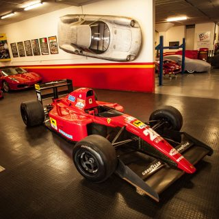 The Footnote Ferrari: Revisiting Jean Alesi's 643 Formula 1 Car In South Africa
