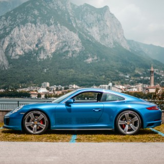 Modern 911 Road-Tripping Through Medieval Italy And The Stelvio Pass