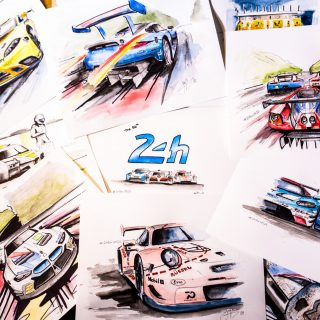24 Hours Of Painting: A Different Way To Experience Le Mans