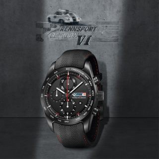 Put The Legacy Of Porsche Rennsport And Design On Your Wrist With This Limited Edition Chronotimer