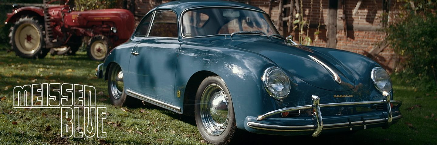 1958 Porsche 356A 1600 Super: Meissen Blue, Not Messed With