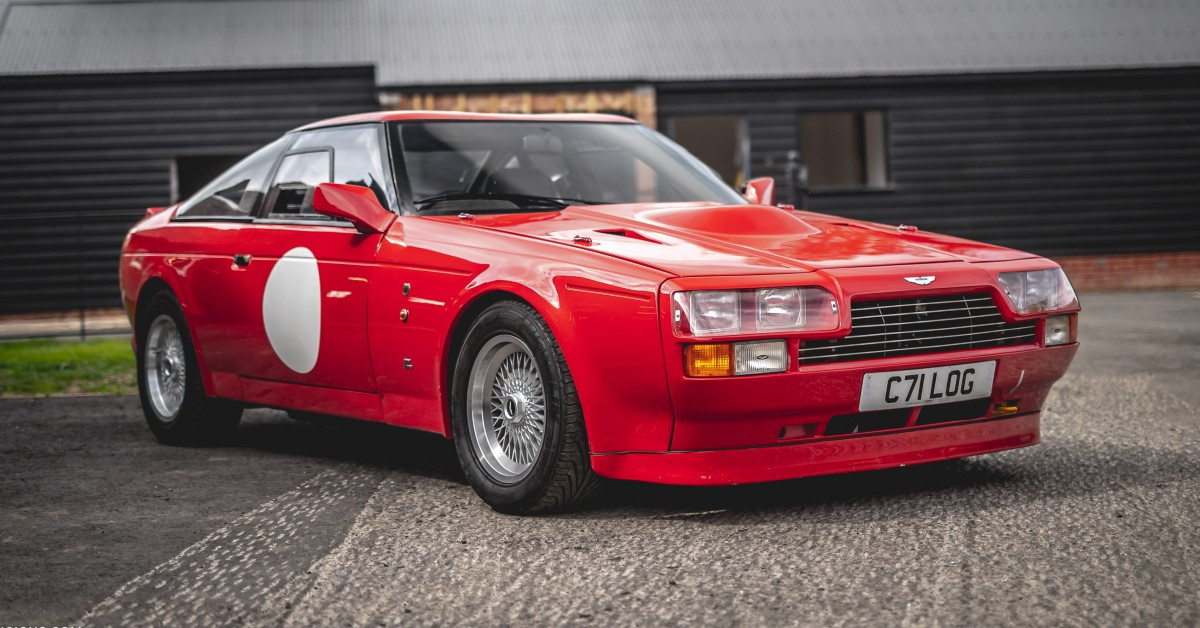 80s Rarity When Zagato Styled An Aston Martin Into A Boxy Gt With V8 Power Petrolicious