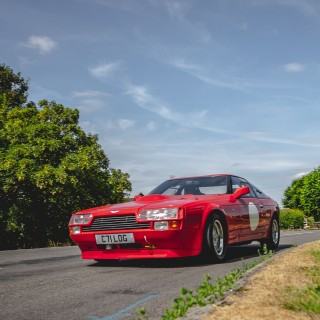 '80s Rarity: When Zagato Styled An Aston Martin Into A Boxy GT With V8 Power