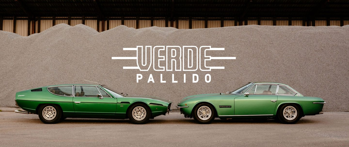 Lamborghini Espada Joins Islero In Matching Metallic Wonderland
