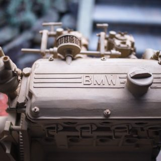 Pulp Friction: BMW Enthusiast Recreates The Iconic M10 Engine Out Of Cardboard