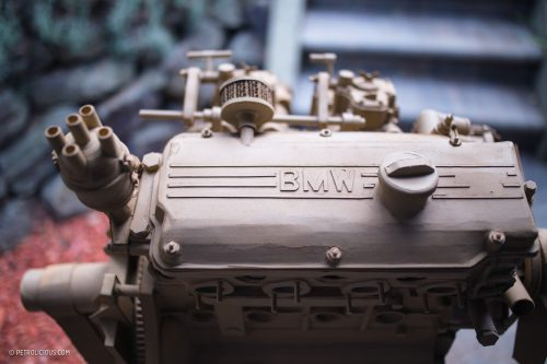 Pulp Friction: BMW Enthusiast Recreates The Iconic M10 Engine Out Of