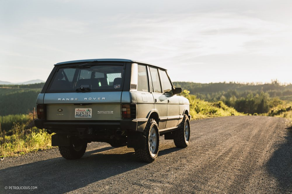 Ever Seen A Range Rover County Classic Powered By A BMW V12