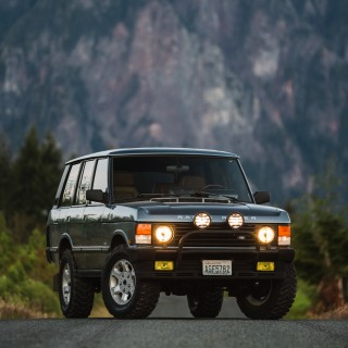 Ever Seen A Range Rover County Classic Powered By A BMW V12?