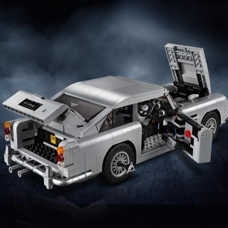 Be Bond With LEGO's Ejector-Seat-Equipped Aston Martin DB5 007 Edition