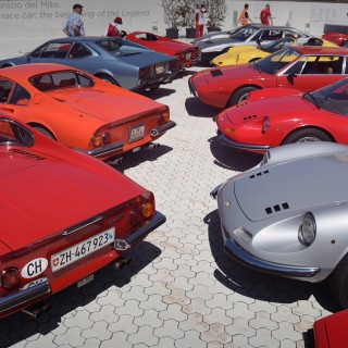 Celebrating Five Decades Of Dino With 180 Of Them In Maranello