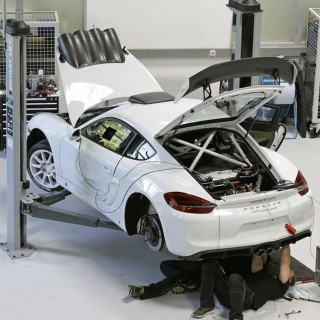Porsche Might Be Returning To Factory-Backed Rallying With A Heavily Modified Cayman GT4
