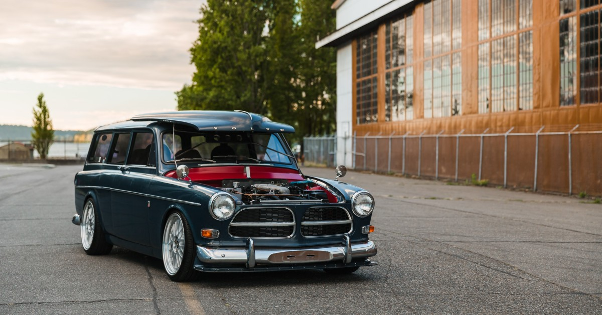 there\u0027s a bmw e30 hiding underneath this volvo amazon hot rod