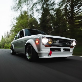SR20DET-Powered Datsun 510 Proves Family Members Make The Best Organ Donors