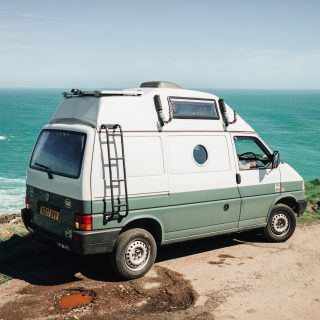 GALLERY: Go Behind The Scenes On Our 1996 Volkswagen T4 Transporter Film Shoot