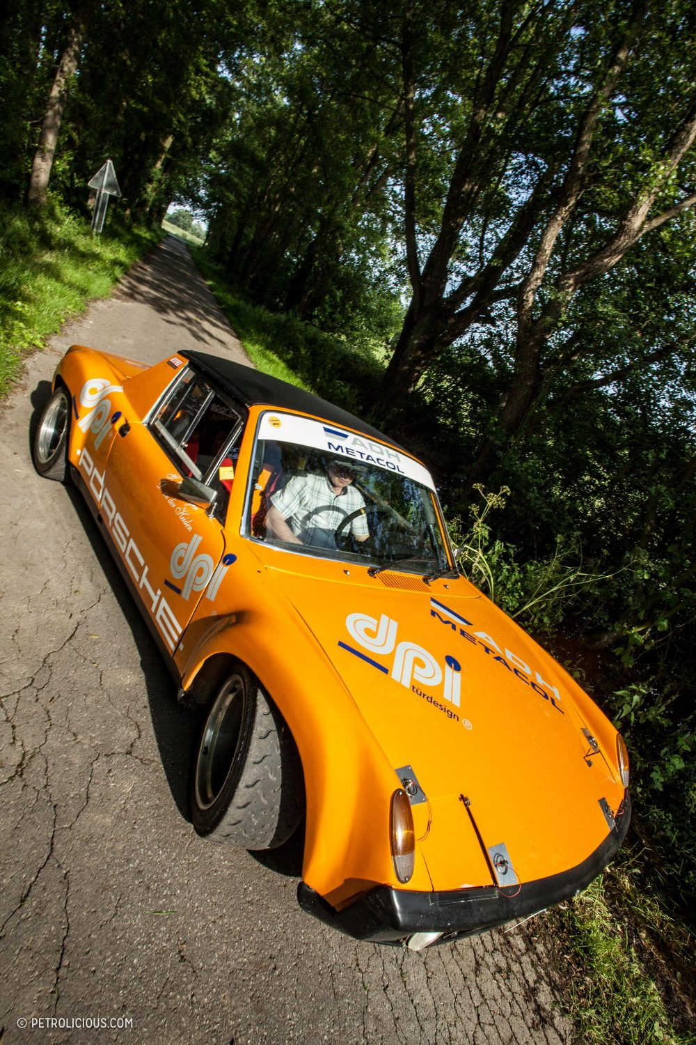 Taking Porsche To School With A Lightweight 914 6 Gt Rally Car Engine Wiring On The Tighter Stages However Its Low Weight And Mid Configuration Nimble Orange Slice Is As Fast Anything Out There