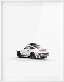 911 Rear Poster