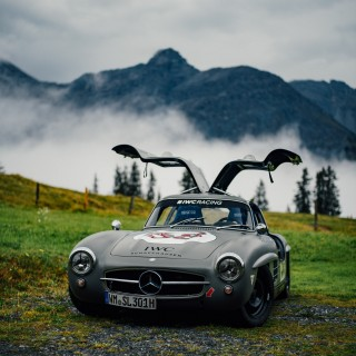 IWC Invited Me To The Arosa Hillclimb To Watch An F1 Driver Race A Gullwing Up A Mountain