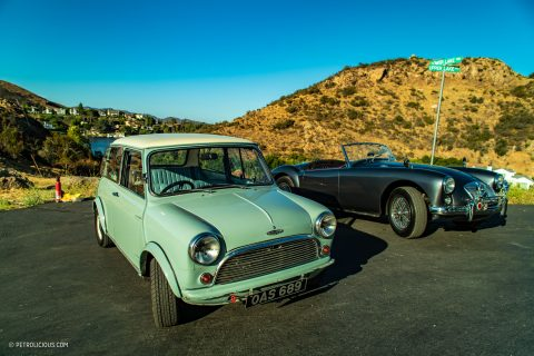 558a84f2c8b GALLERY: Go Behind The Scenes On Our Austin Mini Cooper & MGA Film ...