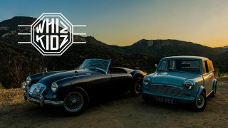 1958 MGA And 1962 Austin Mini Cooper: Whiz Kids