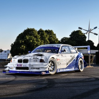 This Judd V8-Powered BMW E36 Is A Touching Tribute To The King Of Hillclimb
