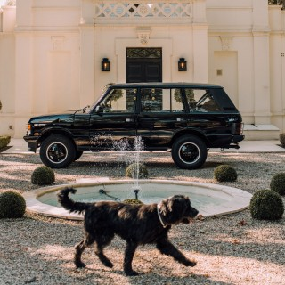 Cappuccinos, Cigars, And Shotguns: Building The Ultimate Gentleman's Range Rover